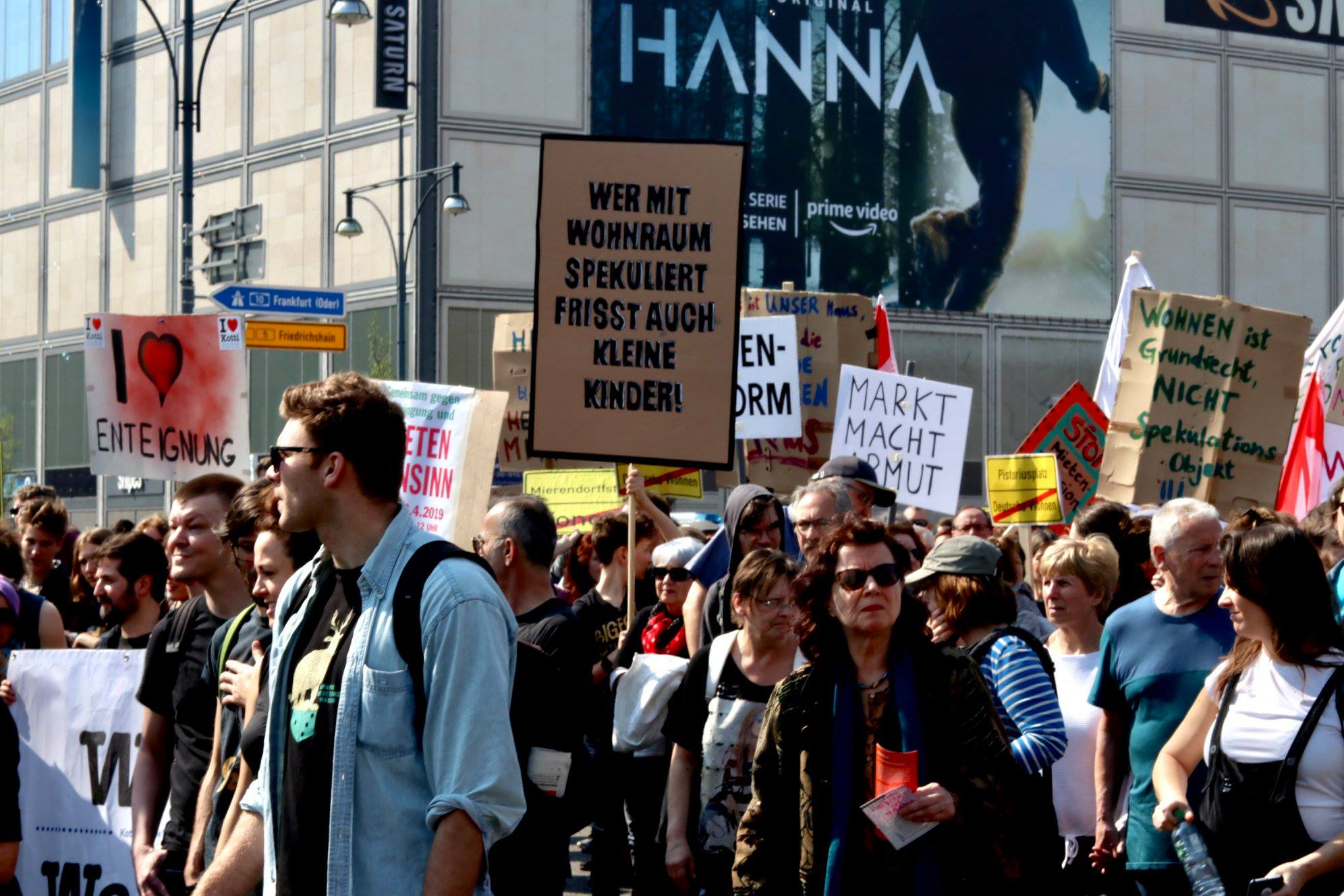 Protesty przeciwko rosnącym czynszom